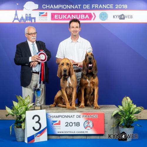 CP 142 LR CHAMPIONNAT DE FRANCE 2018