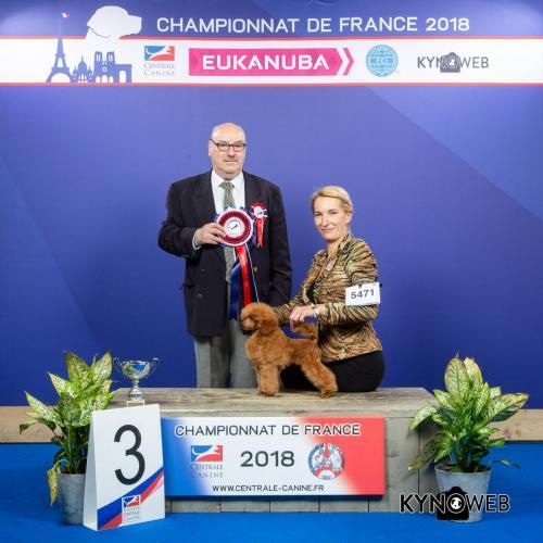 C 5471 LR CHAMPIONNAT DE FRANCE 2018