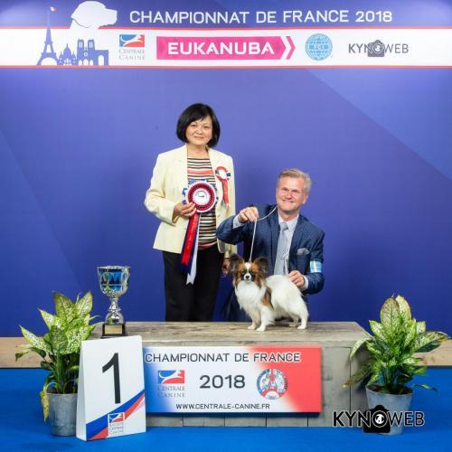 C 6124 LR CHAMPIONNAT DE FRANCE 2018