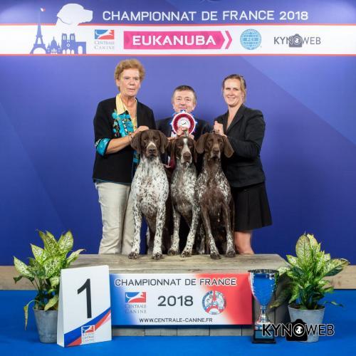 GE  LR CHAMPIONNAT DE FRANCE 2018