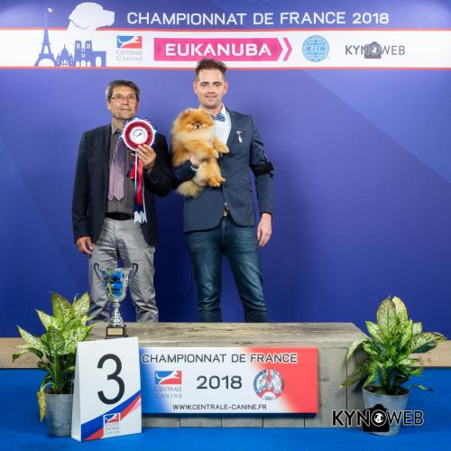 G 3549 LR CHAMPIONNAT DE FRANCE 2018