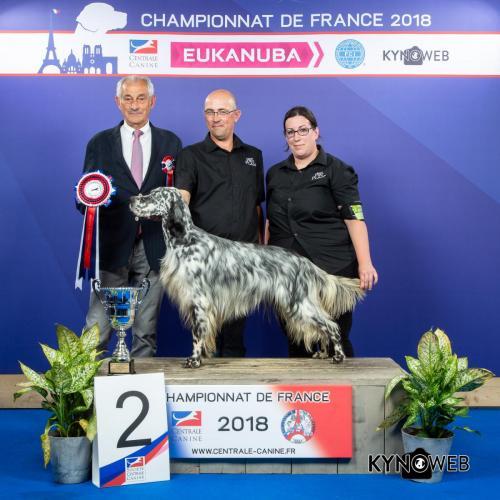 G 4835 LR CHAMPIONNAT DE FRANCE 2018
