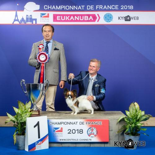 G 6124 LR CHAMPIONNAT DE FRANCE 2018