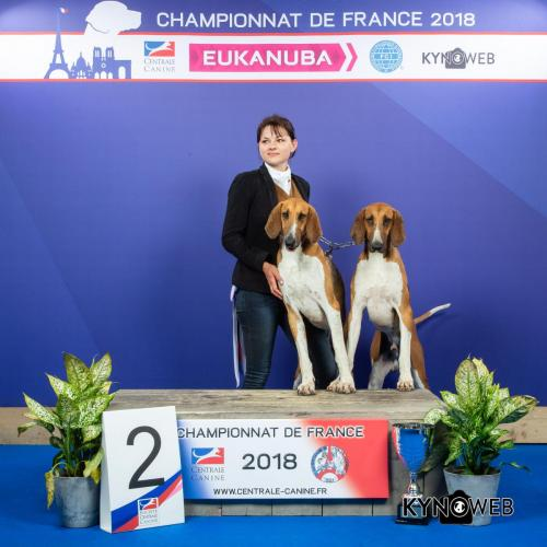 PAIR 134 LR CHAMPIONNAT DE FRANCE 2018