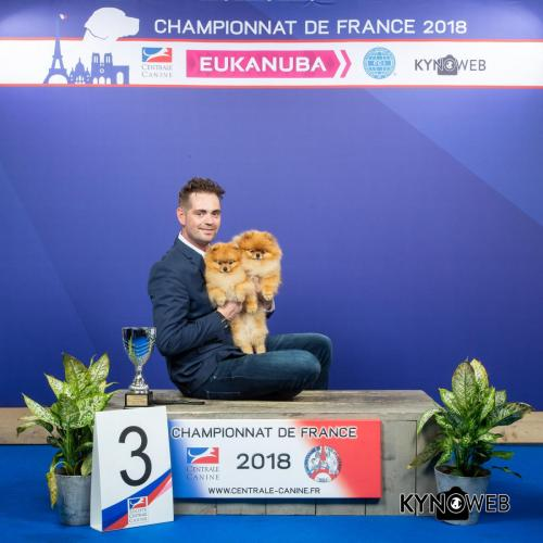 PAIR 3 LR CHAMPIONNAT DE FRANCE 2018