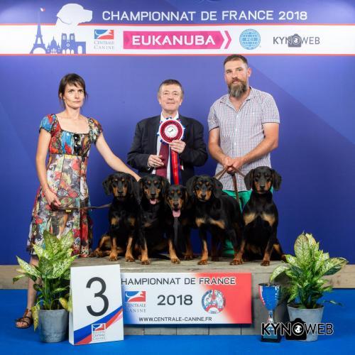 PR 19 LR CHAMPIONNAT DE FRANCE 2018